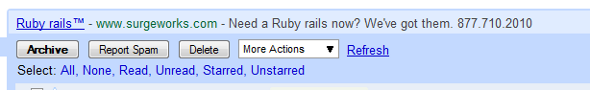 Gmail ad: Need a Ruby rails now?